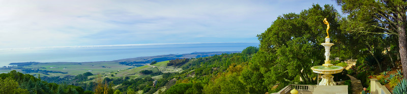 Hearst Castle Panorama