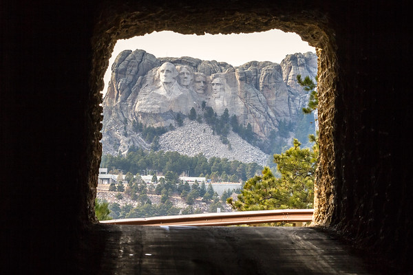 Tunnel along Iron Mountain Road