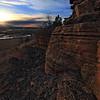 Sandstone near Lookout Mountain in Spearfish