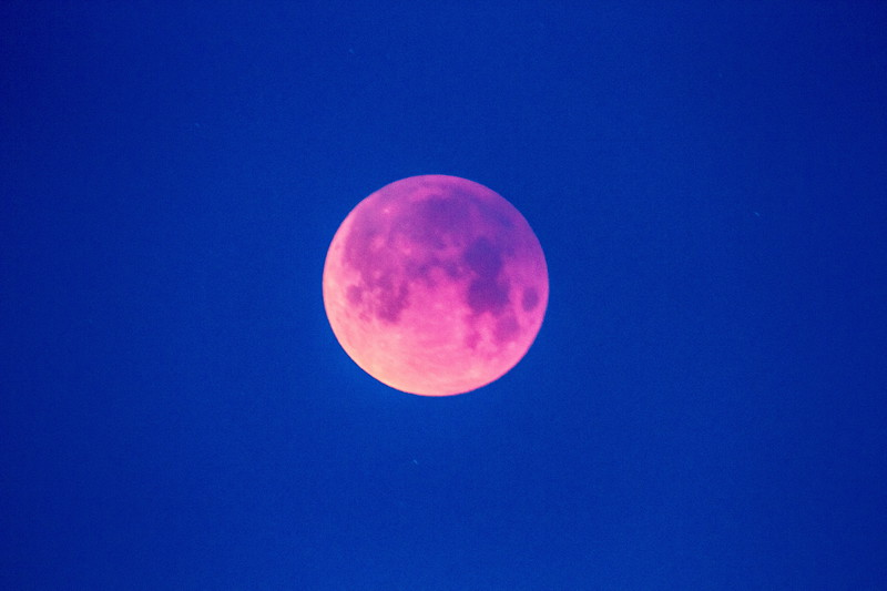 Super Blue Blood Moon Eclipse over Spearfish