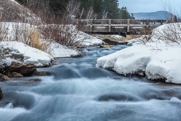 Spearfish Creek in Spearfish Canyon
