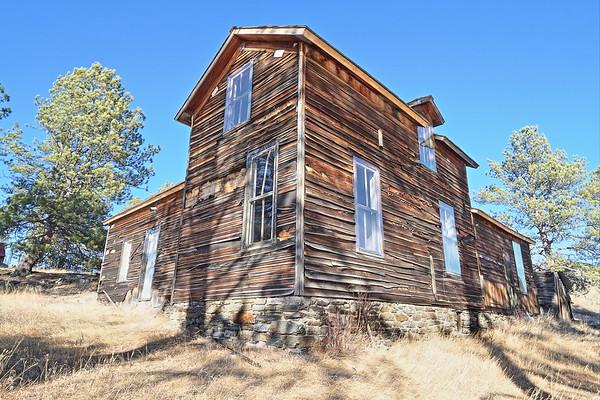 House at the Meeker Ranch near Custer