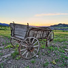 Wagon at the High Plains Western Heritage Center in Spearfish