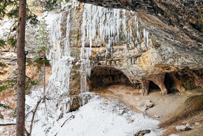 Ice at Wildcat Caves (Community Caves)