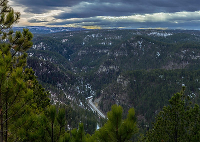 Overlooking Spearfish Canyon