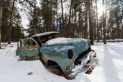 in the ghost town of Spokane southeast of Keystone