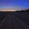 Sunset near Cox Lake northwest of Spearfish