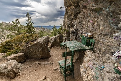 Poet's Table in Custer State Park