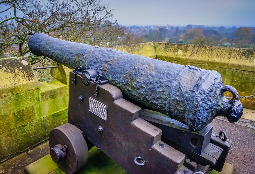 Windsor Castle Cannon