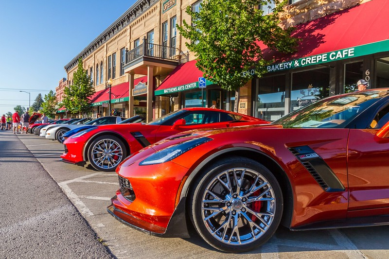 Corvette Rally in Spearfish