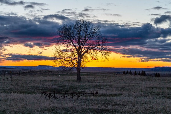 Sunset in Spearfish