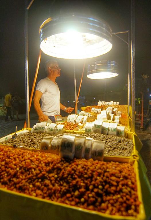 Athen flea market man
