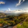 Delphi sunset