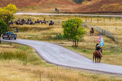 2018 Buffalo Roundup in Custer State Park