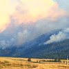 Fire on Crow Peak near Spearfish