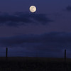 Full moon east of Spearfish