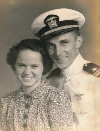 1940-1947:  College, War, Marriage, Family