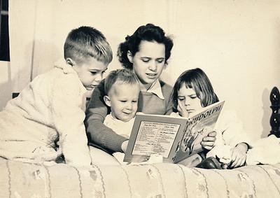 1948-1960:  Navy Wife, Mother, Morocco, Santa Barbara