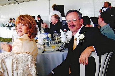 2002 : Enjoying the reception.
