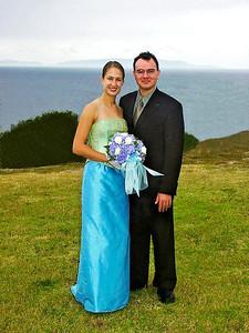 2002 :  Lauren and Jedd.
