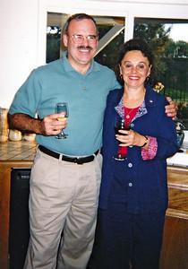 2002 : Wedding rehearsal; Jim and Janice Norton.