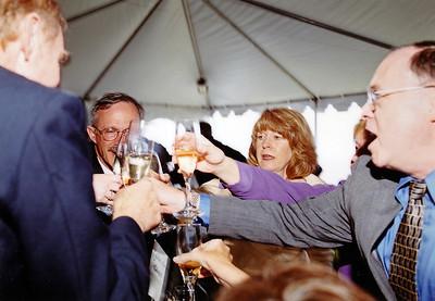 2002 : Making toasts.   (paid photographer photo).