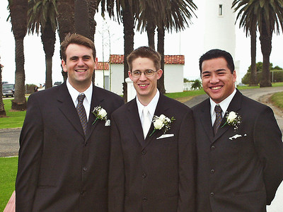 2002 : Chris, Paul and Anthony ... long time friends from high school.