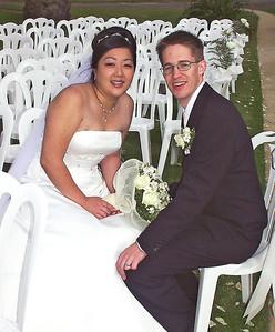 2002 : The newlyweds.