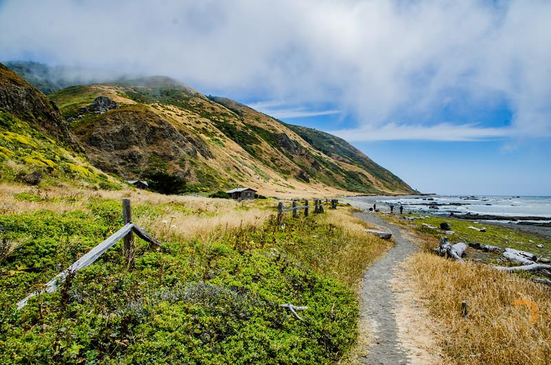Entering the beautiful Lost Coast Trail of California. Please Follow Me! https://tlt-photography.smugmug.com/