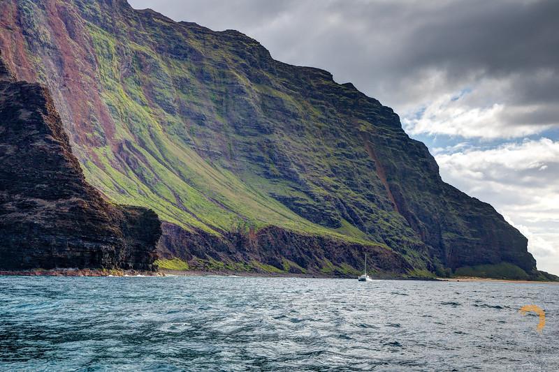 Catamaran and Na Pali Coast of Kauai. Please Follow Me! https://tlt-photography.smugmug.com/