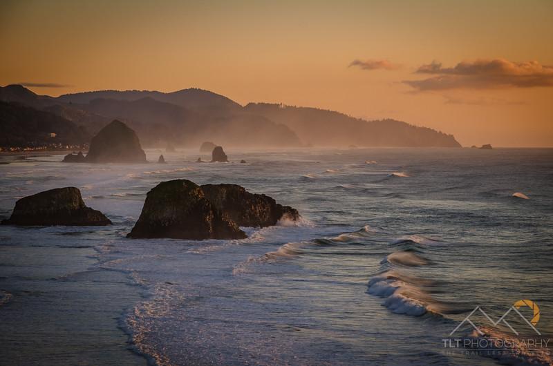 Cannon Beach Sunset - Oregon