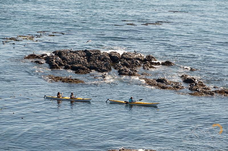 Kayakers below us at Iceberg Point on Lopez Island, Washington. Please Follow Me! https://tlt-photography.smugmug.com/