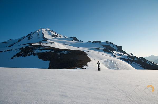 Heading up the south face of Disappointment Peak towards Glacier Peak, Washington. Please Follow Me! https://tlt-photography.smugmug.com/
