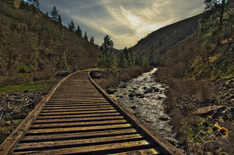 An old railway bridge on the Klickitat Trail deep within Swale Canyon, Washington. Please Follow Me! https://tlt-photography.smugmug.com/