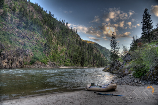 Our campsite on the Salmon River in Idaho. Please Follow Me! https://tlt-photography.smugmug.com/