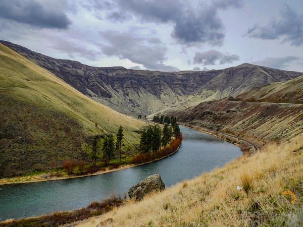 Driving through the beautiful Yakima Canyon just north of Selah, WA.  Yakima River below. Please Follow Me! https://tlt-photography.smugmug.com/