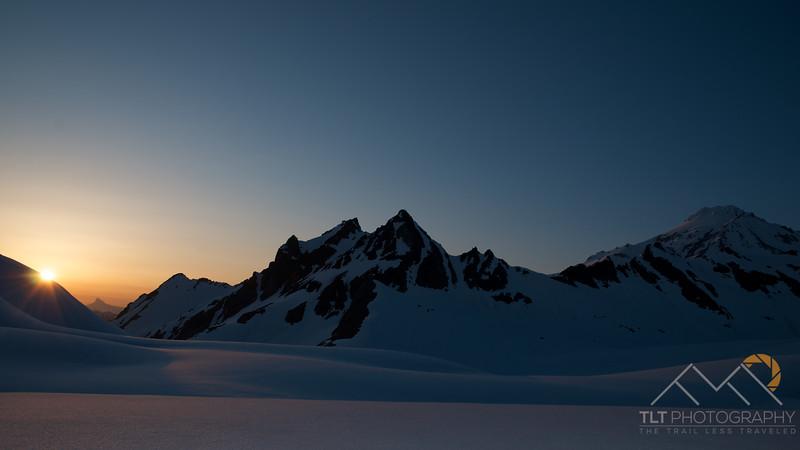 Sunset over the White Chuck Glacier Basin below Glacier Peak in Washington. Please Follow Me! https://tlt-photography.smugmug.com/