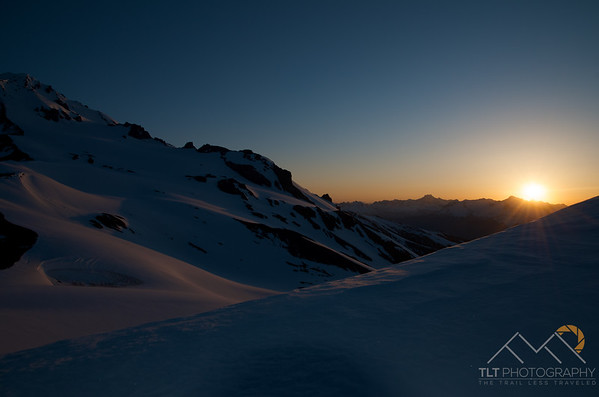 Sunrise over the slopes of Disappointment Peak from Glacier Gap in Washington. Please Follow Me! https://tlt-photography.smugmug.com/