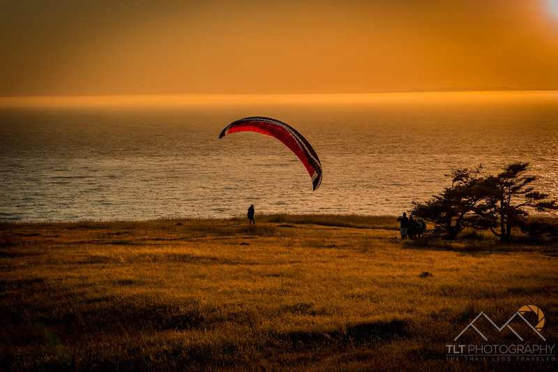 Sunset At Ebey State Park