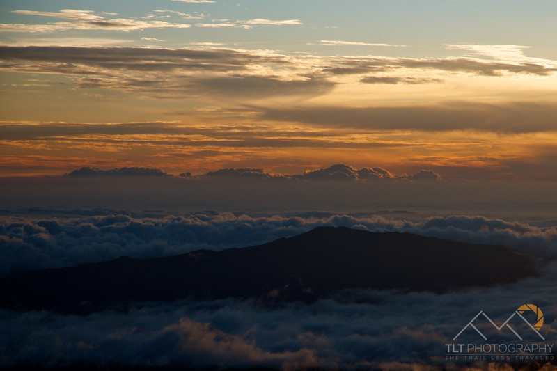 Looking over at Mauna Loa from the summit of Mauna Kea at sunset, Hawaii. Please Follow Me! https://tlt-photography.smugmug.com/