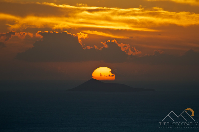 The sun setting over the small island of Lehua off the western coast of Kauai. Please Follow Me! https://tlt-photography.smugmug.com/