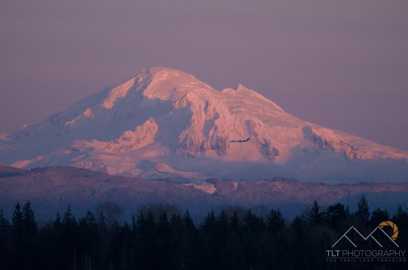 Mt. Baker at sunset from Lummi Island in the San Juan Islands of Washington. Please Follow Me! https://tlt-photography.smugmug.com/
