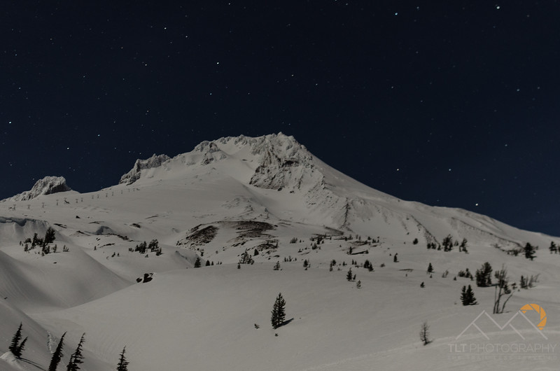 A shot of Mt. Hood before we went to sleep for the night for our big climb at 6am. Please Follow Me! https://tlt-photography.smugmug.com/