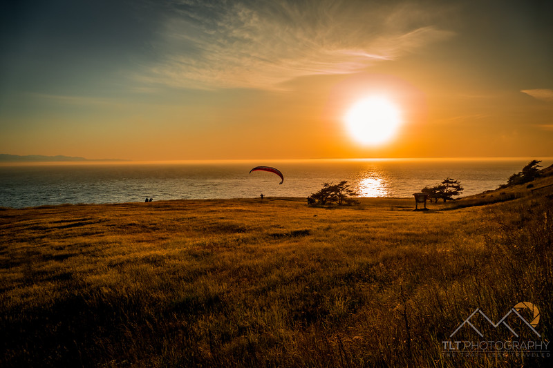 Ebey State Park Sunset