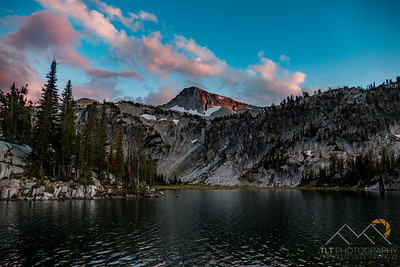 What an amazing sunset this night from our campsite on Mirror Lake in the Eagle Cap Wilderness of Oregon. Please Follow Me! https://tlt-photography.smugmug.com/