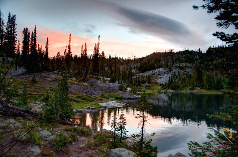 Sunset over Moccasin Lake in the Eagle Cap Wilderness. Please Follow Me! https://tlt-photography.smugmug.com/