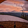 "This was our view from our campsite at Goat Lake in Goat Rocks Wilderness, Washington. Please Follow Me! <a href=""https://tlt-photography.smugmug.com/"">https://tlt-photography.smugmug.com/</a>"