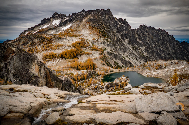 McClellan Peak with Crystal Lake below in the Enchantments of Washington. Please Follow Me! https://tlt-photography.smugmug.com/