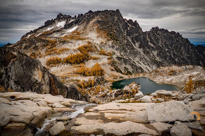 McClellan Peak with Crystal Lake below in the Enchantments of Washington. Please Follow Me! https://tlt-photography.smugmug.com/