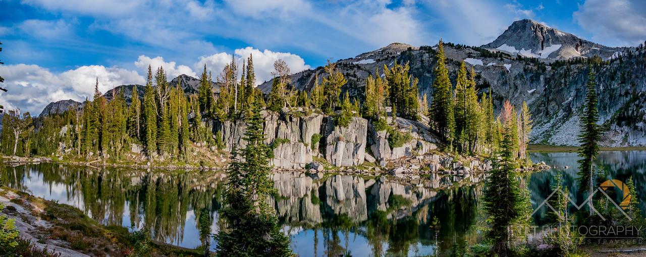 Eagle Cap above Mirror Lake in the Wallawas. Please Follow Me! https://tlt-photography.smugmug.com/